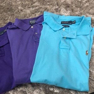 Bundle Ralph Lauren Soft Polo Shirt, Size XL